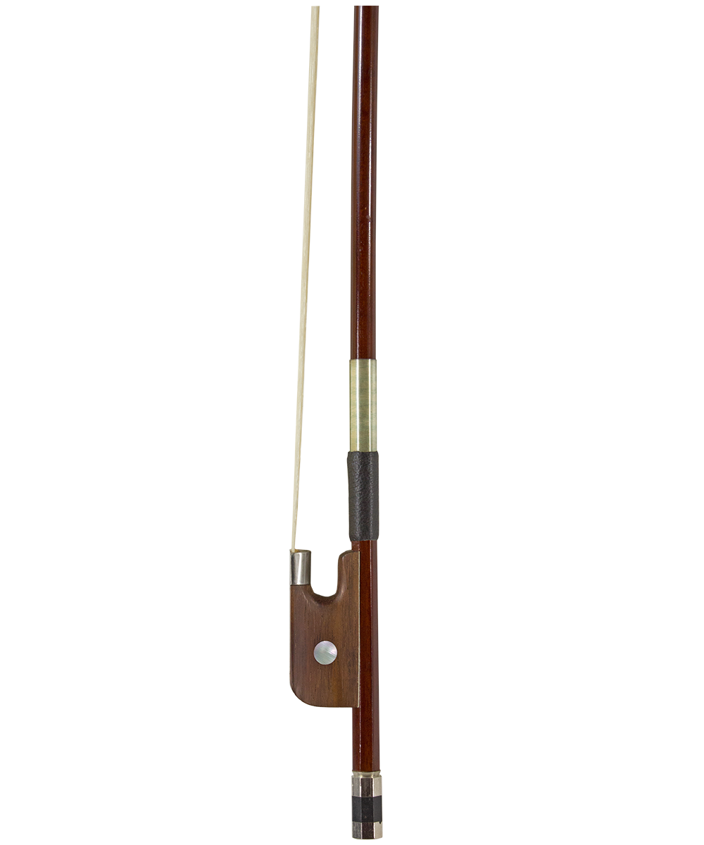 Brazilwood Bass Bow Rosewood Frog, French Style
