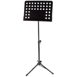 Heavy-Duty Music Stand, black