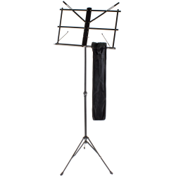 Standard Metal Music Stand, black