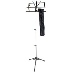 Extra-Tall  Folding Music Stand, black