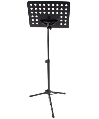 Heavy-Duty Music Stand, black
