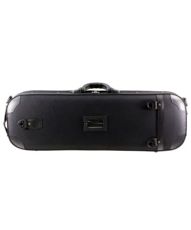 Violin Case with Hygrometer and Carry Straps