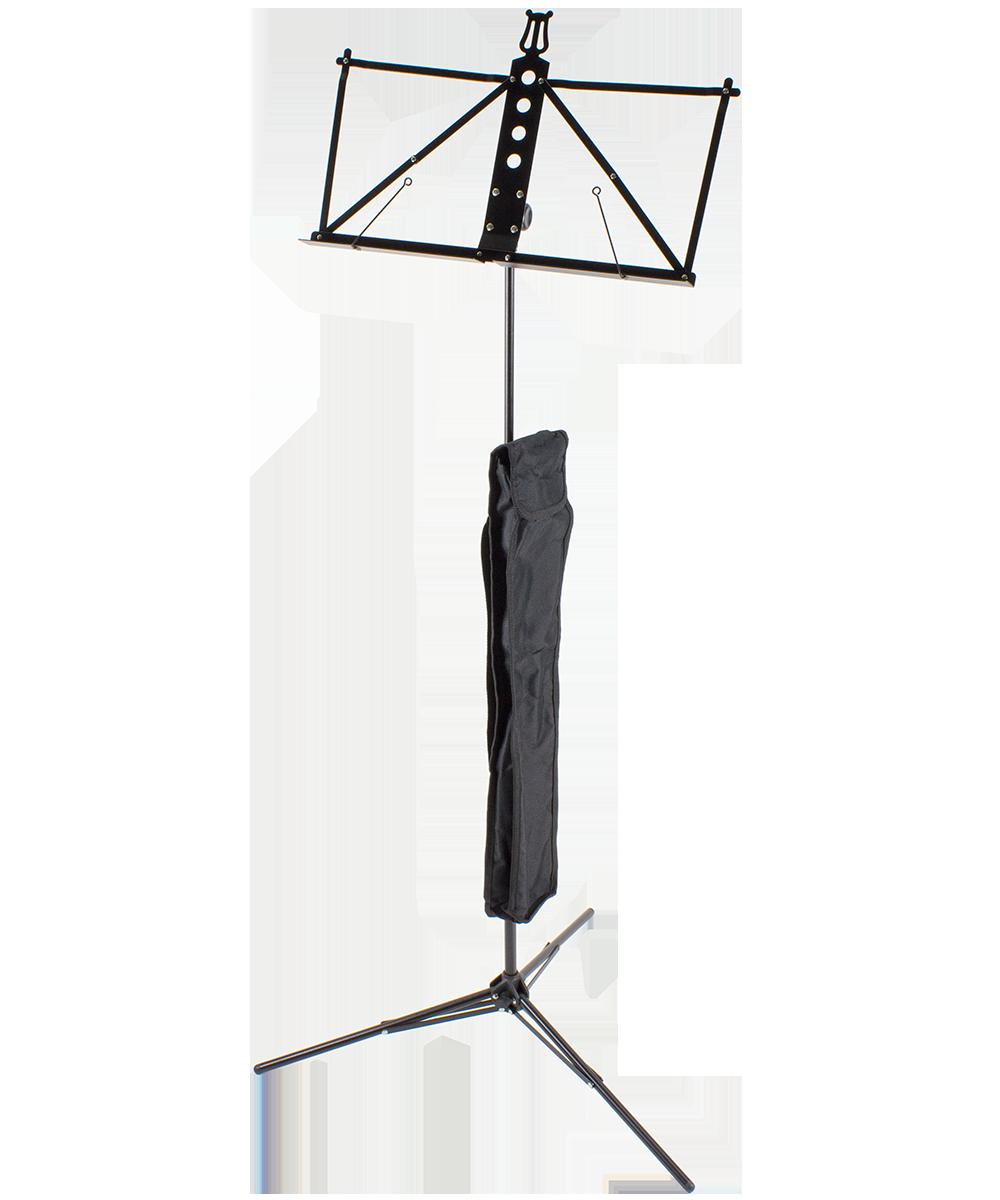 Ultralight Aluminium Music Stand, black