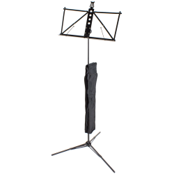 Ultralight Aluminium Music Stand, black