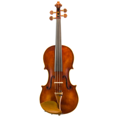 VIOLIN BY CHARLES BRUGERE, 11 Rue de Faub: Poissonniere 11, No.124 Paris 1906